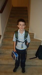 Caleb 1st Grade