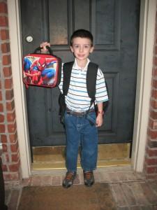 Caleb Kindergarten